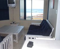 Lounge with sleeper card and DStv, with guests own smart card.