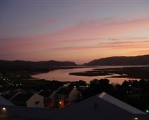 Sunset over Knysna Heads