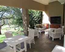 Barbeque area at Matumi Golf Lodge