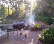 Or relax and BBQ with a glass of wine or a beer