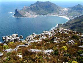 Hout Bay view from Noordhoek Peak