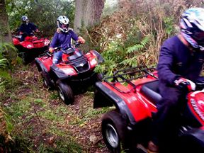 Quad biking, Adventure Land