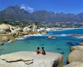 View of Glen Beach & Camps Bay Beach from Maidens Cove