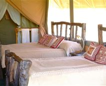 Tent interior © Gamewatchers Safaris Ltd