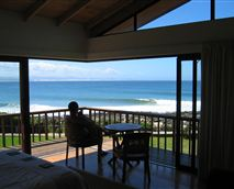 View from the balcony © The Beach House