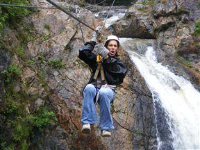 Magoebaskloof Canopy Tour Waterfall Letaba River