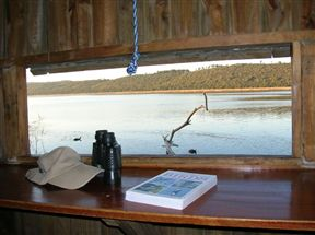 Bird Hide on Langvlei - Wilderness National Park