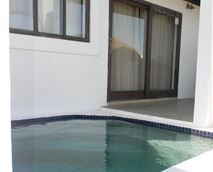 plunge pool and braai at every unit
