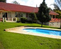 Braai and swimming pool area.