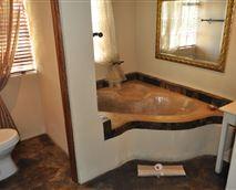Bathroom - bath with a handshower