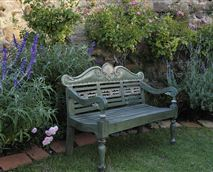 Relax in the private scented garden<br />