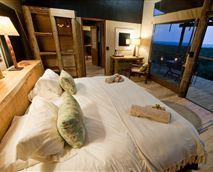 The honeymoon suite has fantastic views out towards the ocean.