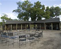 Main camp area