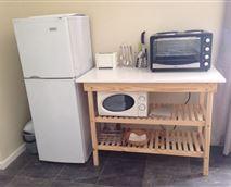 Full fridge and freezer