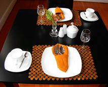 Enjoy a full english breakfast in our designated dining area.
