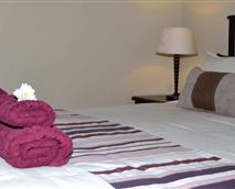 Double bed with en-suite bathroom with  a shower only