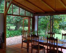 The Farm House dining area