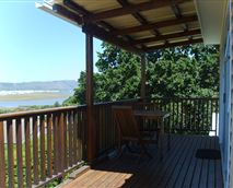 Front deck view