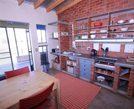 Kitchen downstairs of Cottage