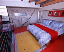 Bedroom upstairs of Cottage for two people