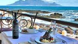 Restaurants in Bloubergstrand