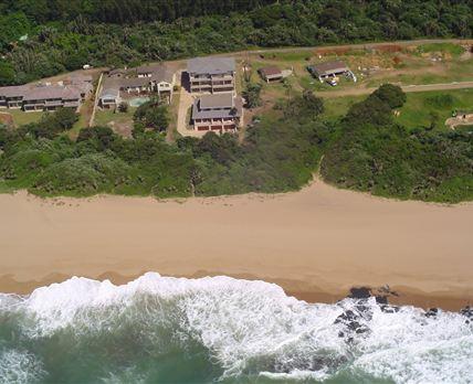 Aerial view of Channel Rock duplexes © Channel Rocks