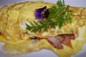 Omelets served with a variety of fillings of your choice