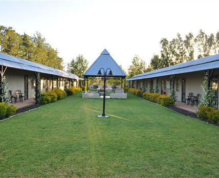 Courtyard accommodation