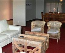 One of the lounge areas.