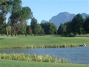 Paarl Golf Club has 27 international standard holes. The first nine holes along the Berg River
