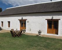 The two self-catering cottages.