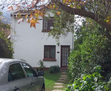 Main Entrance in a lovely tranquil garden setting. Self catering apartment