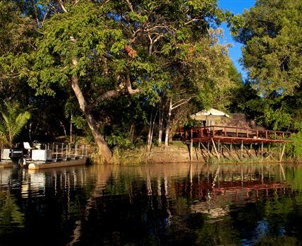 View of Ndhovu Safari Lodge
