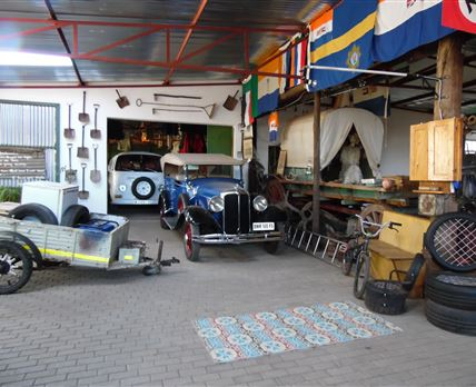 Section of the Museum found at Ossewa Family House / Museum