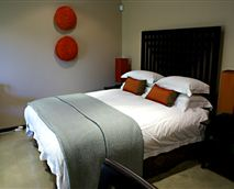 A double en-suite room with a balcony.