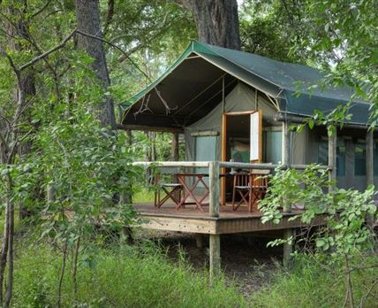Luxury Safari Tent exterior