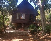 Outside view of Chalet 1
