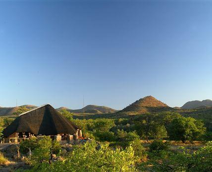 View of Huab Lodge