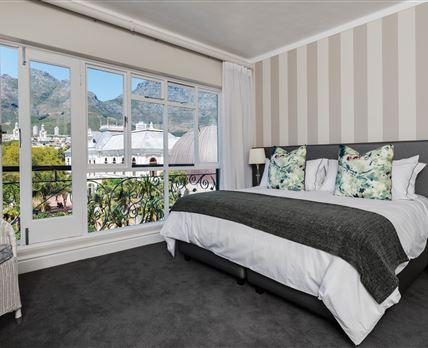 Mountain facing room