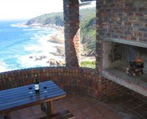 All barbecue areas are private and overlook the ocean.