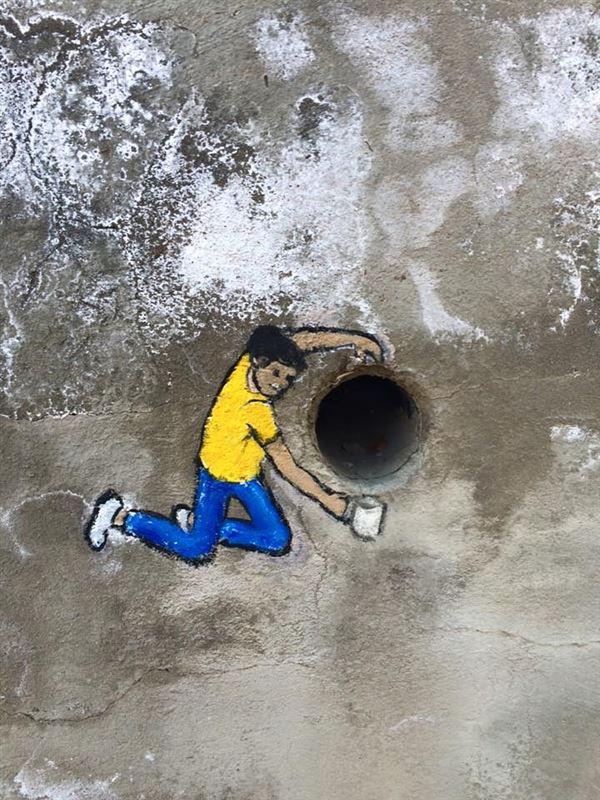 Street art, Prince Albert