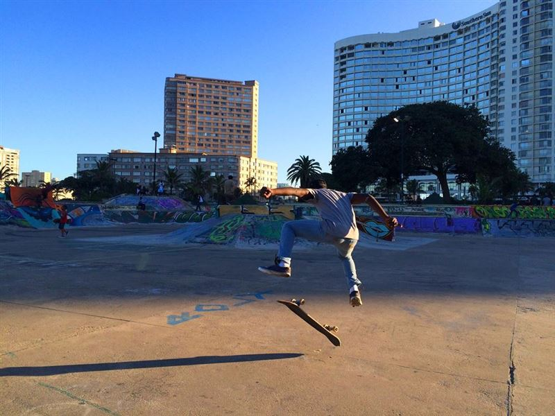 Skating Durban Beachfront