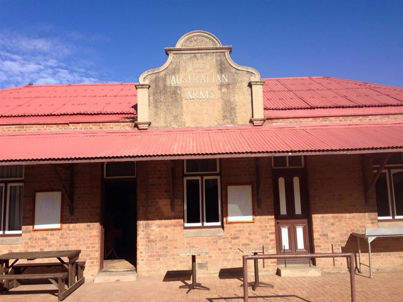 The Australian Arms in Kimberley