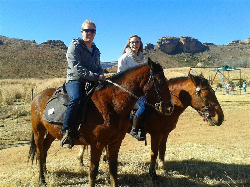 Horse riding near Clarens
