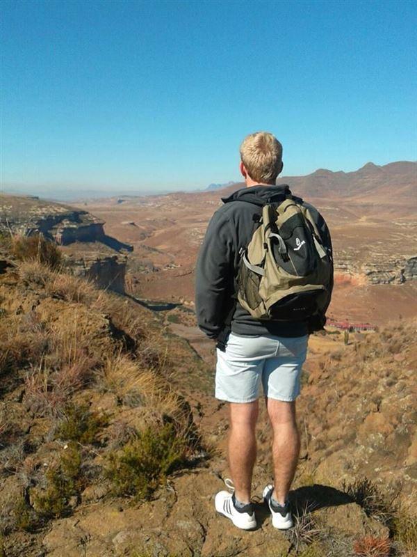 Hiking near Clarens