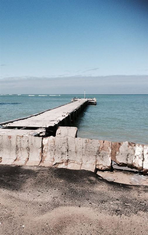 Strand beachfront