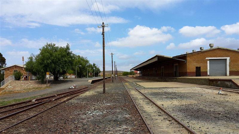 Bitterfontein Train Station