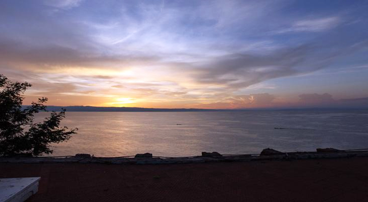 Sunset over Lake Tanganyika from Kigoma