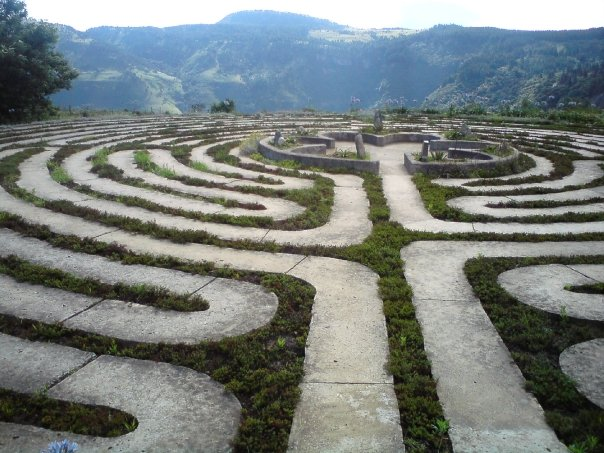 Hogsback labyrinth