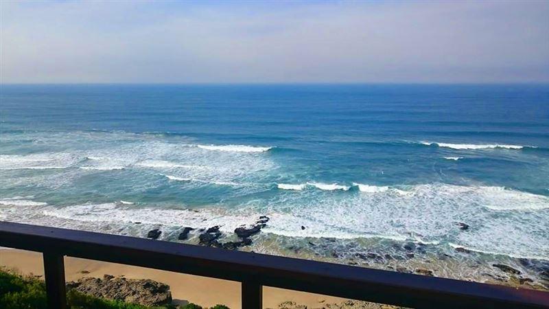 View from Plankiesplesier, Dana Bay